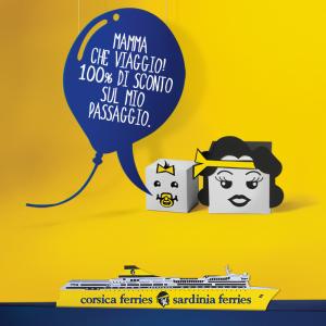 Corsica Sardinia Ferries: i bimbi viaggiano gratis prenotando dal 17 al 27 maggio