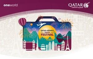 """Qatar Airways lancia """"Travel Festival"""""""