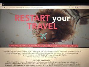 Restart Your Travel, un nuovo marchio di consulenza gratuita per le adv