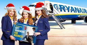 """Ryanair lancia """"Voucher regalo per il tuo business"""""""