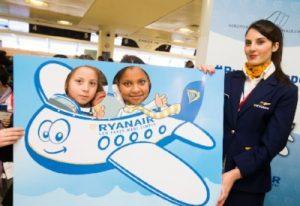 #RyanairNapoli, una giornata in aeroporto con i passeggeri più piccoli