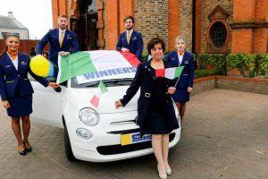 """Ryanair, un'italiana tra i vincitori della Fiat 500 con i """"gratta e vinci"""""""