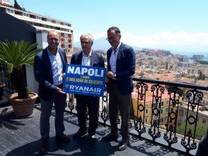 Ryanair festeggia il primo anno a Napoli con 2 milioni di passeggeri