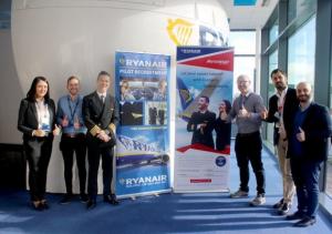 Ryanair, formazione piloti in collaborazione con Aviomar Flight Academy