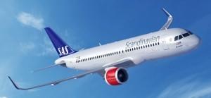Sas accoglie in flotta il primo dei 30 A320neo in ordine
