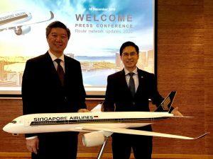 Singapore Airlines si rafforza sull'Europa, nel 2020 nuovo collegamento con Bruxelles