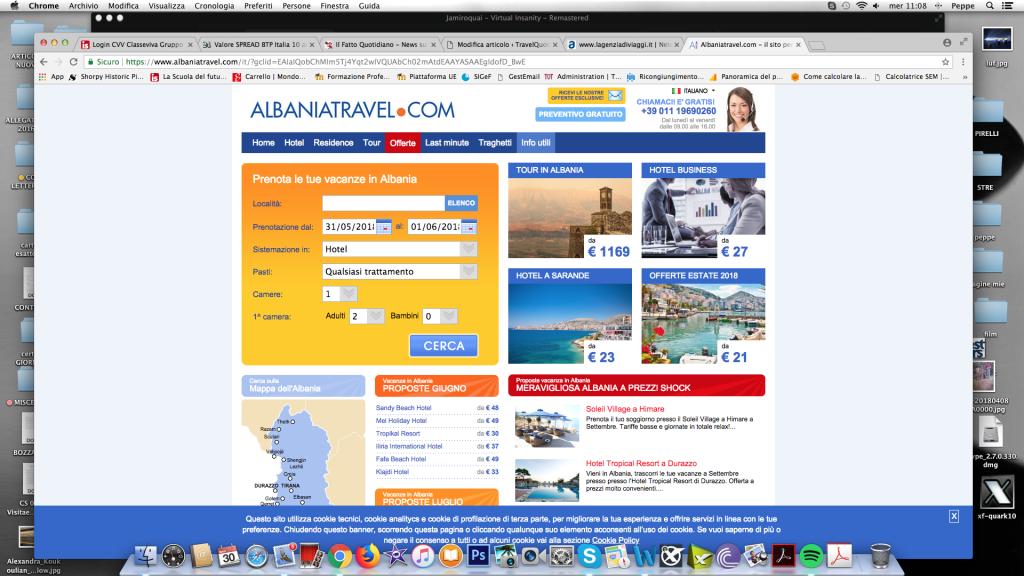 AlbaniaTravel.com: continua l'espansione di Alpitour