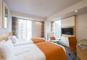 """Ti dirò come dormi"":  sleep-report al Remm HIbiya hotel di Tokyo"