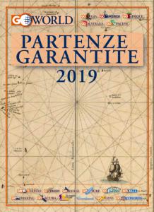 Go World, una selezione di viaggi nel catalogo Partenze Garantite 2019