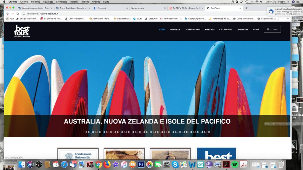 Arkus: «Best Tours e Metamondo sono assicurate con Nobis Assicurazioni»