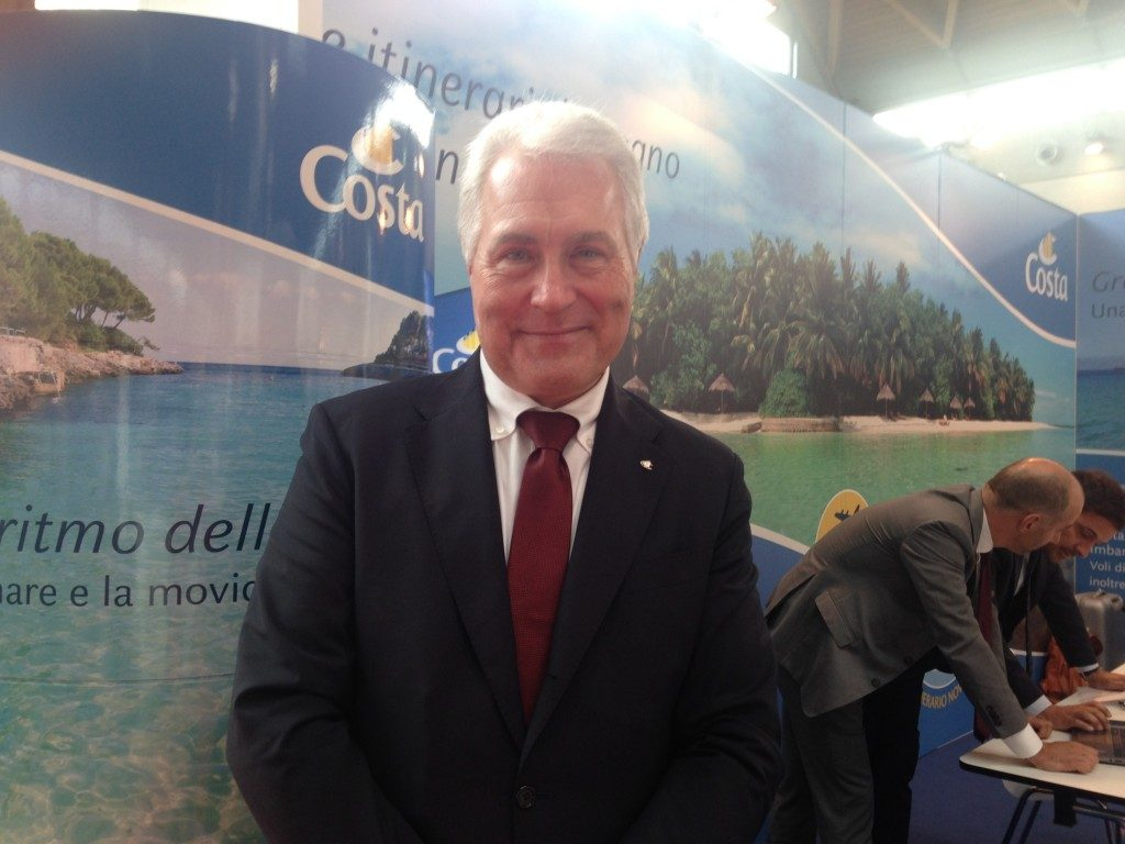 Carlo Schiavon country manager Italy di Costa Crociere. Fantoni direttore vendite