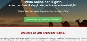 L'Egitto lancia il visto d'ingresso online per 46 Paesi, Italia inclusa