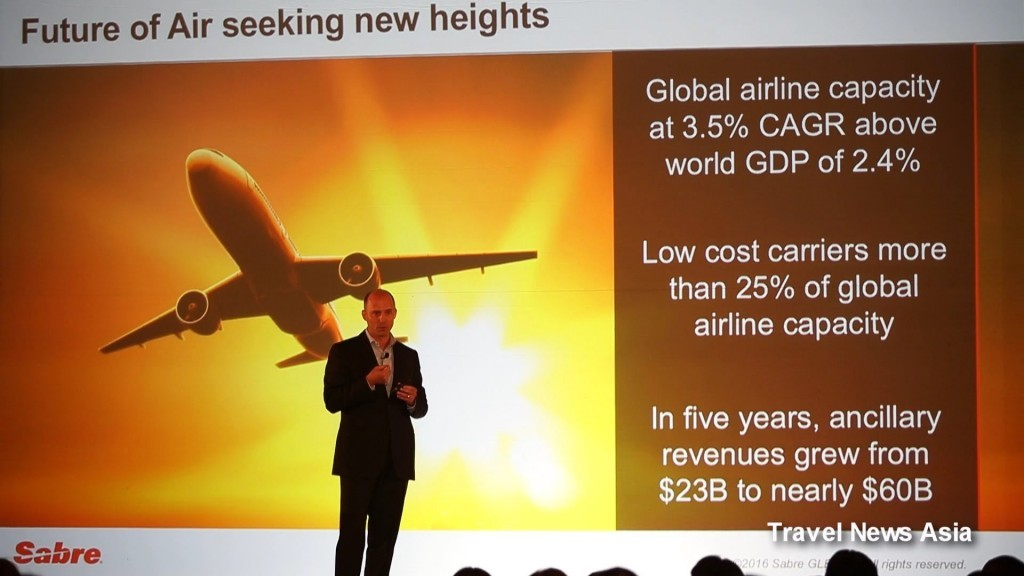 Sabre Corporation: un trimestre in crescita