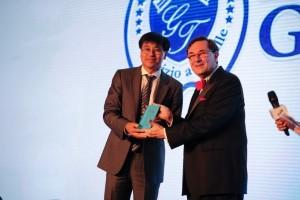 Gartour Cina premiata con il Panda d'Oro a Shanghai