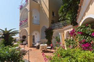 Sina Hotels celebra i 60 anni e debutta a Capri con lo storico Hotel Flora