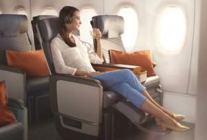 Singapore Airlines a Milano Malpensa con l'A350. E la Premium economy