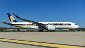 Singapore Airlines, in flotta il primo A350-900 Ultra long range