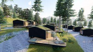 Skyview chalet del Toblacher See, le nuove strutture per dormire sotto le stelle