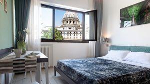 Riapre la guest house St. Peter's View di Roma. Commissioni al 15% per le adv