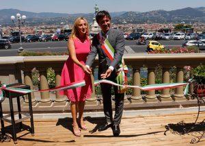 Starhotels restaura le balaustre di Piazzale Michelangelo a Firenze