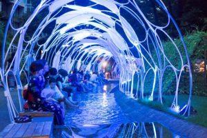 Tokyo, eventi e installazioni luminose nelle serate estive