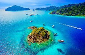 Mappamondo: Indonesia e Thailandia le destinazioni top dell'estate