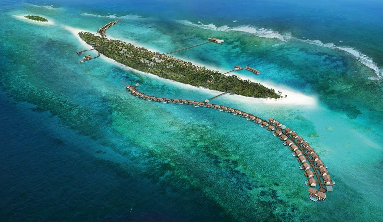 Going lancia il the Residence maldives