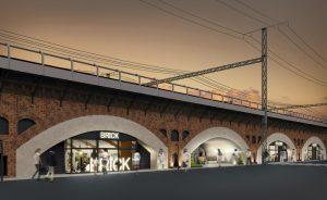 Tokyo, a giugno il ponte ferroviario Hibiya Okuroji svela il nuovo centro commerciale