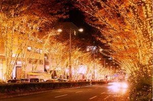 A Tokyo un Natale scintillante