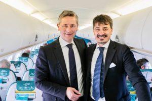 Air Dolomiti, Tommasi è la cantina ufficiale di bordo