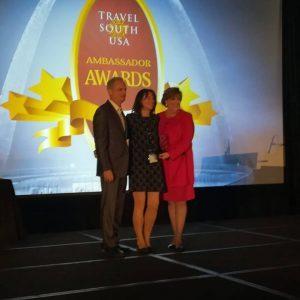 """Naar unico to italiano insignito del """"Travel South Usa Ambassador 2019″"""