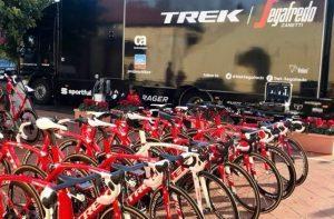 Jsh Hotels & Resorts ospita il Training Camp di Trek-Segafredo a Siracusa