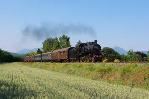 In treno a vapore nel Parco del Ticino, appuntamento l'8 ottobre