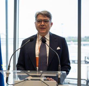 Tucci, Malpensa: «Potenzialmente il T1 potrà gestire 30 milioni di passeggeri»