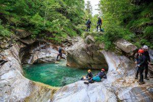 Sport all'aria aperta tra canyon e torrenti della Valtellina