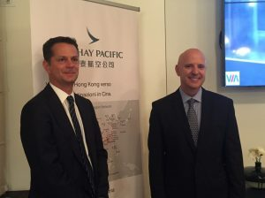 Cathay Pacific, van den Hooven si presenta al mercato italiano