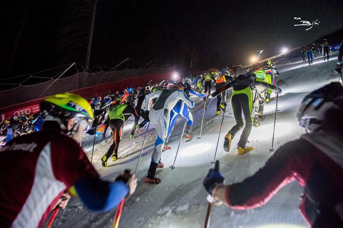 """Pinzolo: la Vertical Up, la corsa più """"infernale"""" dell'inverno"""