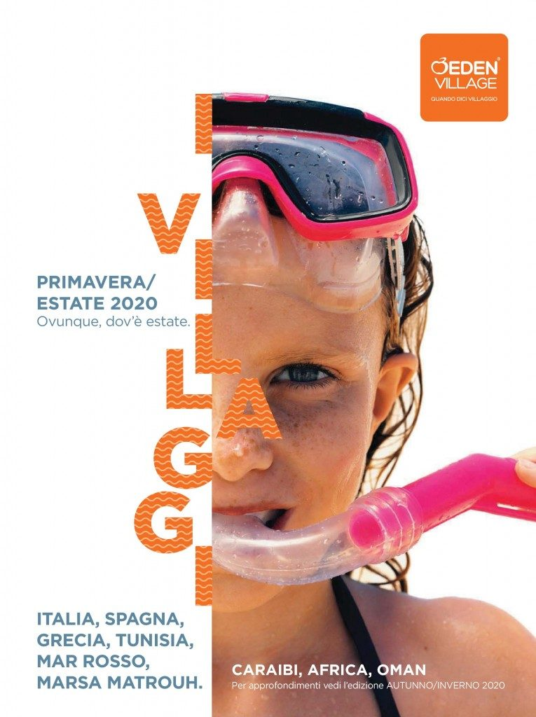 Eden Viaggi: in agenzia il catalogo Villaggi primavera-estate 2020