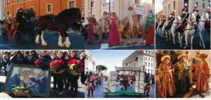 Le tradizioni di Roma e del suo territorio in mostra in occasione del corteo storico Viva la Befana