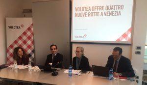 Volotea investe su Venezia con tre nuove rotte per il 2020