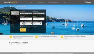 Debutta in Italia Vueling Holidays: pacchetti low cost con Expedia