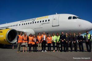Vueling basa a Firenze il terzo A319 e apre la rotta per Monaco di Baviera