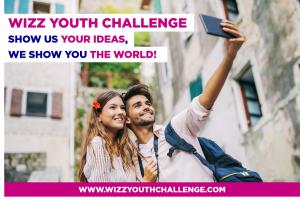Wizz Air per i giovani: al via la seconda edizione del Wizz Youth Challenge