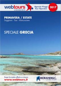 Webtours presenta il catalogo Grecia alla Bit (Travel Open Village)
