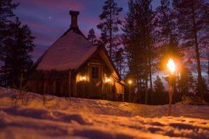 Safari, rompighiaccio e aurore boreale, l'offerta della Lapponia svedese
