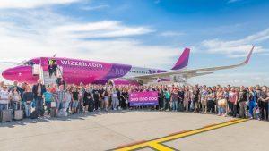 Wizz Air compie 15 anni e raggiunge i 200 milioni di passeggeri