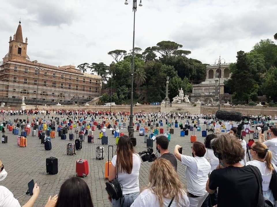 La protesta degli agenti a Roma è riuscita. Ora le trattative