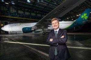 Aer Lingus alza il sipario sui nuovi logo e livrea