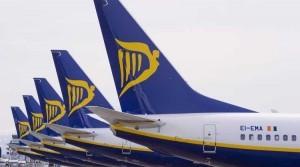 Ryanair centra il nuovo record di passeggeri trasportati