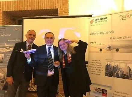 Air China: roadshow a Fabriano con le agenzie